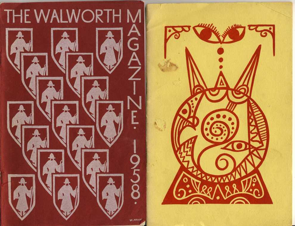 Walworth School magazine covers